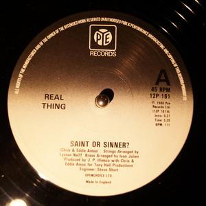 Single Cover The - Saint Or Sinner? Real Thing