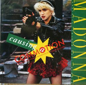 Single Cover Madonna - Causing A Commotion