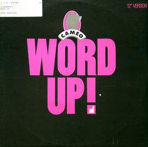 Single Cover Cameo - Word Up
