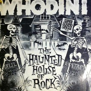 Single Cover Whodini - The Haunted House Of Rock