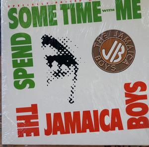 Single Cover The - Spend Some Time With Me Jamaica Boys