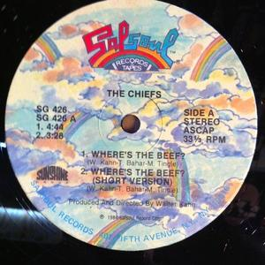 Single Cover The - Where's The Beef? Chiefs