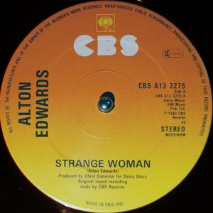 Single Cover Alton - Strange Woman Edwards