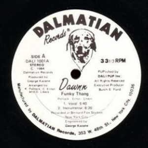 Single Cover Dawnn - Funky Thang