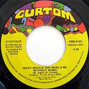 Single Cover Mystique - What Would The World Be Without Music