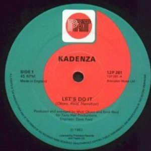 Single Cover Kadenza - Let's Do It