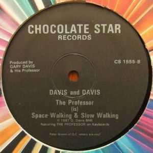 Single Cover Gary - Space Walking Davis