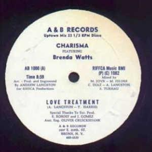 Single Cover Charisma - Love Treatment
