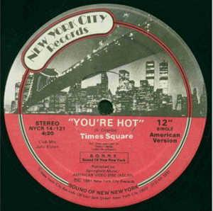 Single Cover Times Square - You're Hot