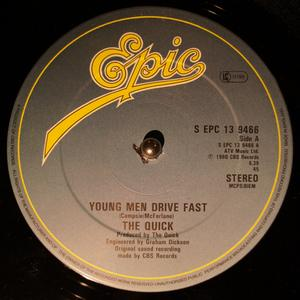 Single Cover Quick - Young Men Drive Fast