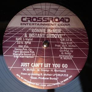 Single Cover Ronnie - Just Can't Let You Go Mcneir