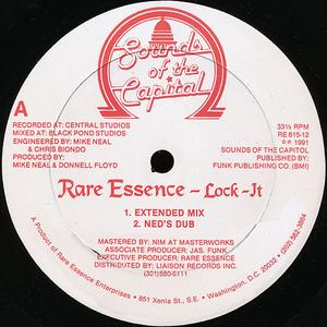 Single Cover Rare Essence - Lock It