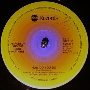Single Cover Al - How Do You Do Hudson