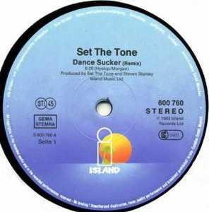 Single Cover Set The Tone - Dance Sucker
