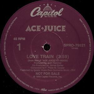 Single Cover Ace Juice - Love Train