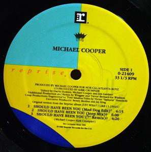 Single Cover Michael - Should Have Been You Cooper