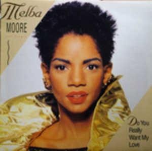 Single Cover Melba - Do You Really Want My Love Moore