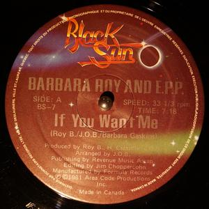 Single Cover Barbara - If You Want Me Roy