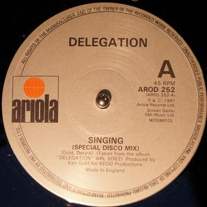 Single Cover Delegation - Singing