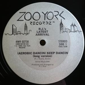 Single Cover R.j.'s Latest Arrival - (aerobic Dancin) Keep Dancin'