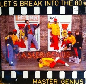 Single Cover Master Genius - Let's Break Into The 80's