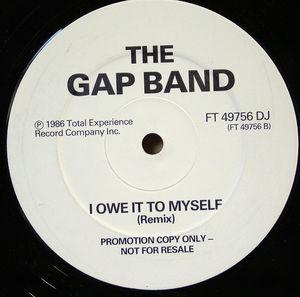 Single Cover The - I Owe It To Myself (remix) Gap Band