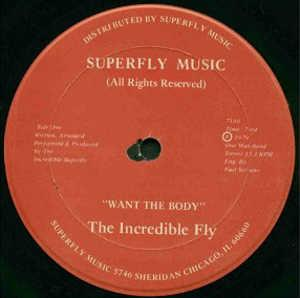 Single Cover The - Want The Body Incredible Fly