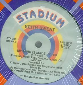 Single Cover Keith - My Mind Is Made Up Sweat