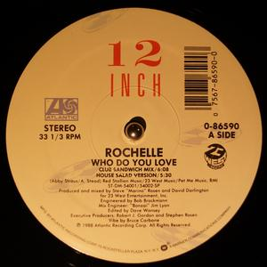 Single Cover Rochelle - Who Do You Love