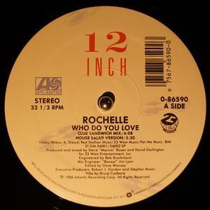 Single Cover Rochelle - Who Do You Love