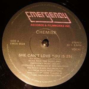 Single Cover Chemise - She Can't Love You