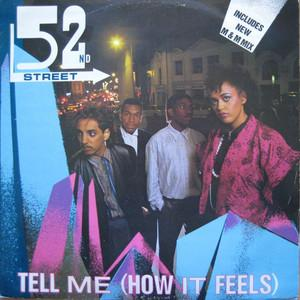 Single Cover 52nd Street - Tell Me (how It Feels) (m & M Stylee)