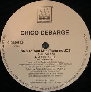 Single Cover Chico - Listen To Your Man Debarge
