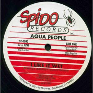 Single Cover Aqua People - I Like It Wet
