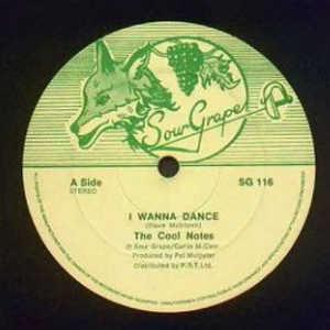 Single Cover The - I Wanna Dance Cool Notes