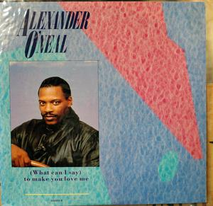 Single Cover Alexander - (what Can I Say) To Make You Love Me O' Neal
