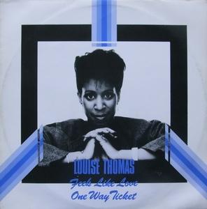 Single Cover Louise - Feels Like Love Thomas
