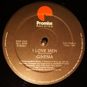 Single Cover Cinema - I Love Men