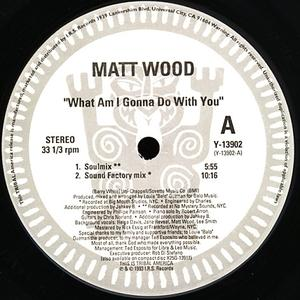 Single Cover Matt - What Am I Gonna Do With You Wood
