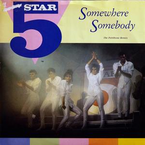 Single Cover Five Star - Somewhere Somebody