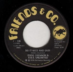Single Cover Eddie - Do It Nice And Easy Drennon & B.b.s. Unlimited