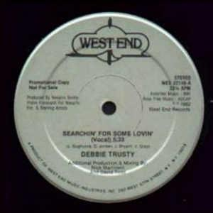 Single Cover Debbie - Searchin' For Some Lovin' Trusty