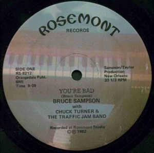 Single Cover Bruce - You're Bad Sampson