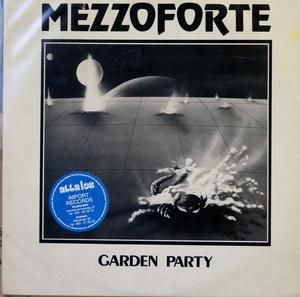 Single Cover Mezzoforte - Garden Party