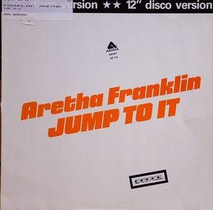 Single Cover Aretha - Jump To It Franklin