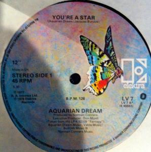 Single Cover Aquarian Dream - You're A Star