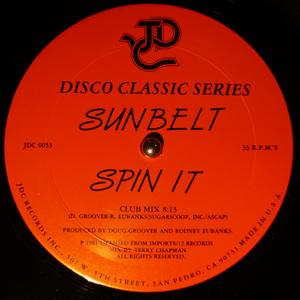 Single Cover Sunbelt - Spin It