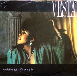 Single Cover Vesta - Suddenly It's Magic Williams