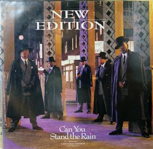 Single Cover New Edition - Can You Stand The Rain