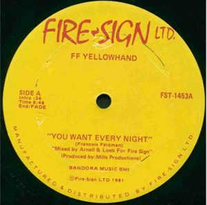 Single Cover Ff Yellowhand - You Want Every Night